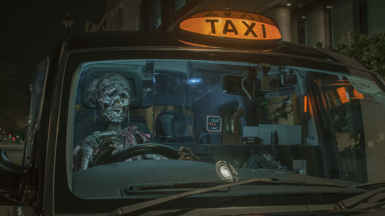 Haunted London Taxi Tour